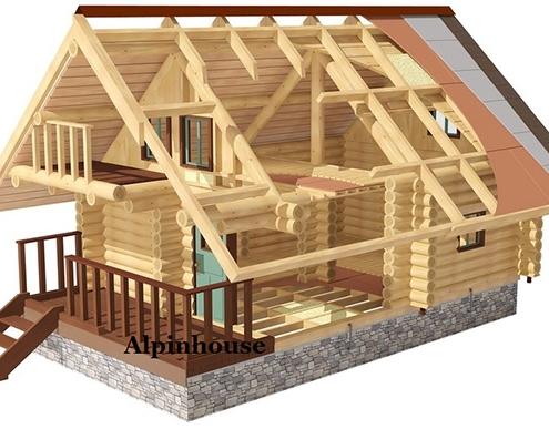 Case din lemn rotund calibrat - Este important sa luam in considerare, atunci cand alegem o constructie din busteni, caracteristica naturala a bustenilor si anume crapaturile, care sunt generate de fluctuatiile procentului de umezeala si de tensiunea reziduala din interiorul lemnului. Cercetarile demonstreaza ca nici uscarea naturala a lemnului si nici uscarea fortata (din uscatoare) nu pot elimina aparitia crapaturilor.