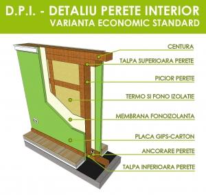 Case pe structura din lemn – Case din lemn – utilitati si facilitati Acest tip de case fac parte din categoria constructiilor usoare fara structura de rezistenta independenta, rolul acesteia fiind preluat distribuit de catre peretii portanti prefabricati ce intra in componenta constructiei. Dintre celelalte caracteristici definitorii ale acestui tip de case, se mai pot enumera marea flexibilitate in alegerea formei si dimensiunilor, peretii prefabricati care includ materialul izolator, amplasarea facila a traseelor de instalatii, rezistenta antiseismica deosebita si cel mai mare avantaj, costul redus de executie!