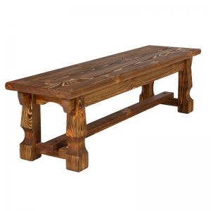 Mobilier antichizat - banca din lemn antichizat