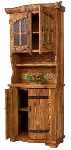 Mobilier antichizat - bufet din lemn antichizat
