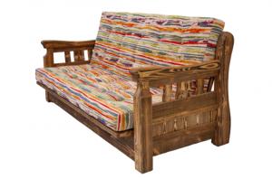Mobilier antichizat - canapea din lemn antichizat
