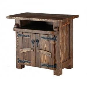 Mobilier antichizat - comoda din lemn antichizat
