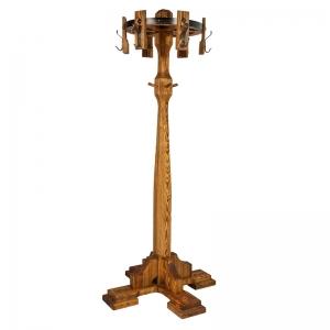 Mobilier antichizat - cuier din lemn antichizat