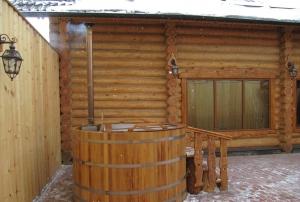 Piscina si sauna - hot tub
