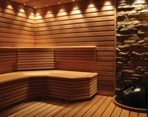 Piscine si saune - interior sauna