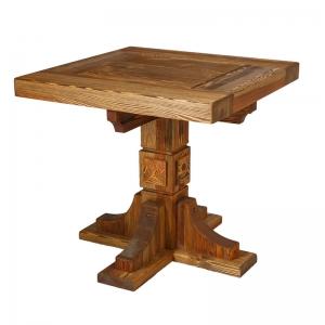 Mobilier antichizat - masa bistro din lemn antichizat