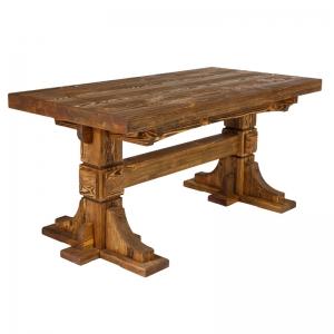 Mobilier antichizat - masa din lemn antichizat