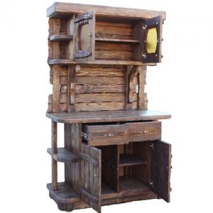 Mobilier antichizat - mobila din lemn antichizat