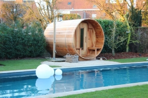 Piscine si saune - sauna butoi simpla