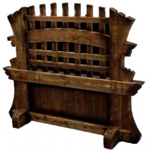 Mobilier antichizat - separatoare din lemn antichizat