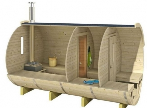 Piscine si saune - structura sauna butoisauna butoi